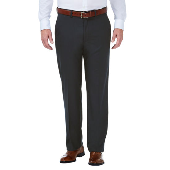 JMH Haggar Charcoal Stretch Classic Fit Suit Pants