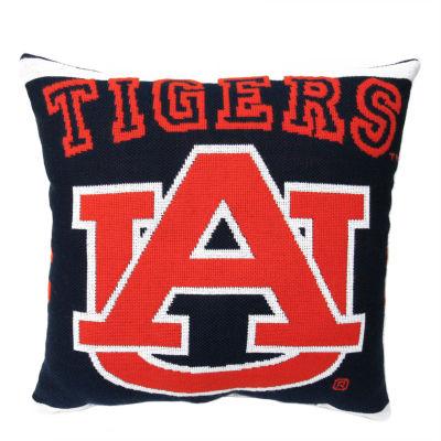 NCAA Auburn University Square Throw Pillow