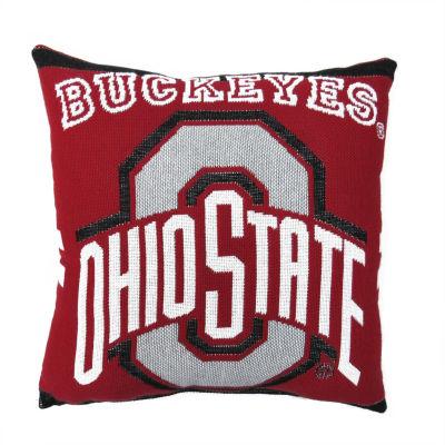NCAA Ohio State University Square Throw Pillow