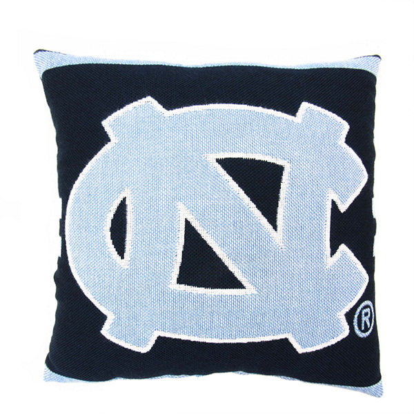 NCAA UNC Square Throw Pillow