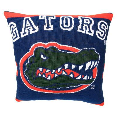 NCAA University Of Florida Square Throw Pillow