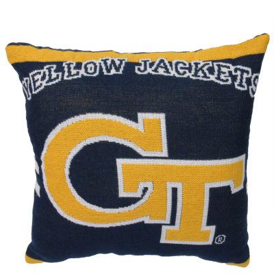 NCAA Georgia Tech Square Throw Pillow