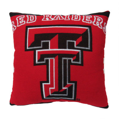 NCAA Texas Tech University Square Throw Pillow