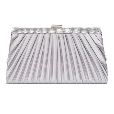 Vie And Rose Pleated Frame Clutch