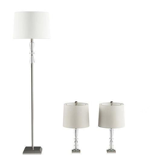 Lavish Home Lavish Home Full Spectrum Sunlight Desk Lamp 3-pc. Lamp Set
