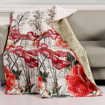 Barefoot Bungalow Meadow Reversible Midweight Throw