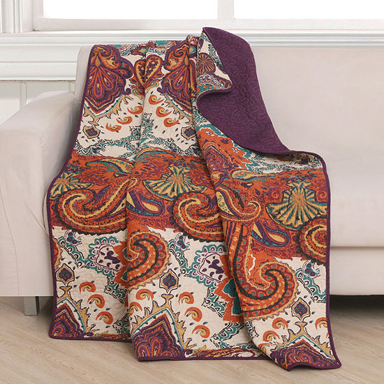 Greenland Home Fashions Nirvana Reversible Midweight Throw