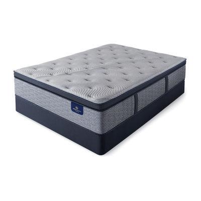 Serta® Perfect Sleeper® Kingsburg Plush Pillowtop - Mattress + Box Spring