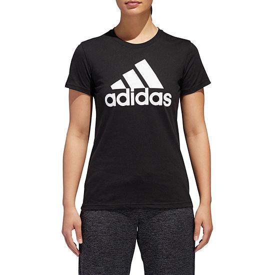 adidas Badge Of Sport -Womens Crew Neck Short Sleeve T-Shirt