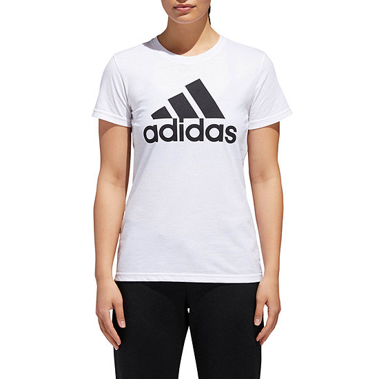 adidas Badge Of Sport -Womens Crew Neck Short Sleeve T-Shirt