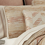 Queen Street Sussex Coral 4-pc. Stripes Heavyweight Comforter Set