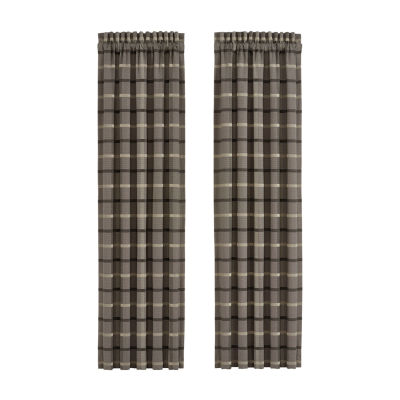 Queen Street Soho Rod-Pocket Curtain Panel