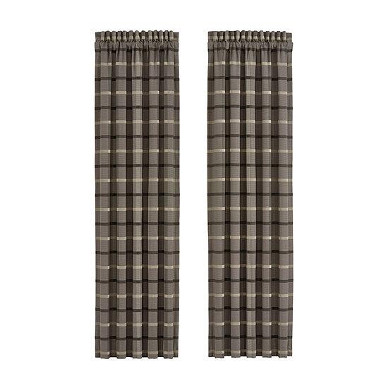 Queen Street Soho Rod-Pocket Curtain Panel