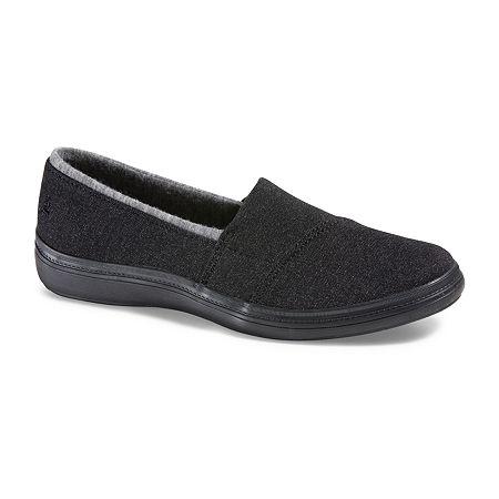 Grasshoppers Womens Siesta Slip-On Loafers. 6 Narrow. Black