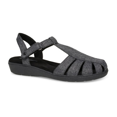 Grasshoppers Womens Ida Fisherman Criss Cross Strap Flat Sandals