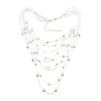 Vieste Rosa Womens Illusion Necklace