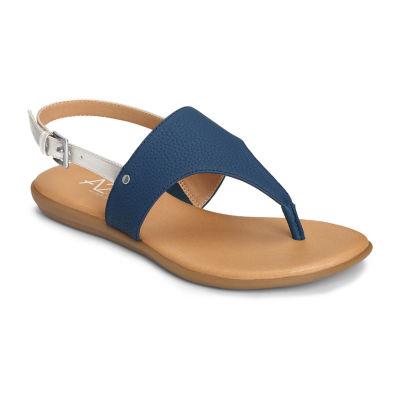 A2 by Aerosoles Womens Art Chlub Adjustable Strap Flat Sandals