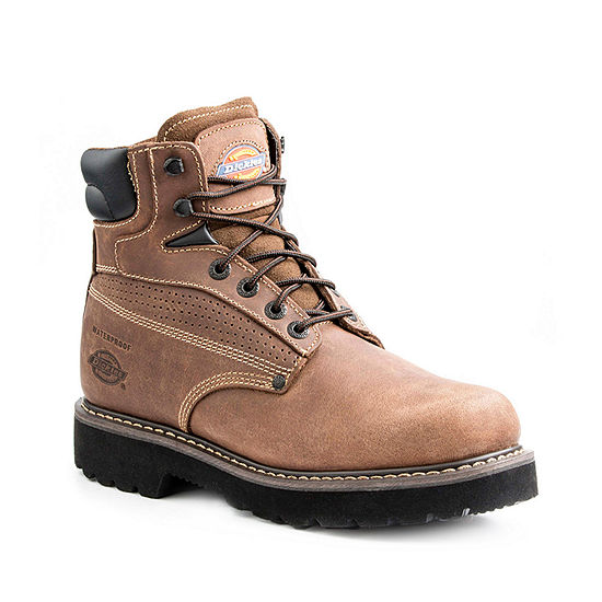 Dickies Mens Breaker Flat Heel Lace-up Work Boots
