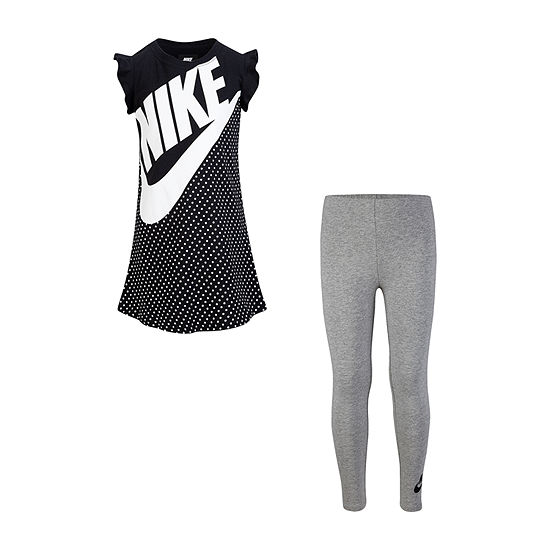 Nike Girls 2-pc. Legging Set-Preschool