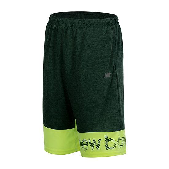 New Balance Boys Mid Rise Elastic Waist Basketball Short Preschool / Big Kid