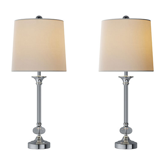 Lavish Home Lavish Home 5' Full Spectrum Sunlight Floor Lamp 2-pc. Lamp Set