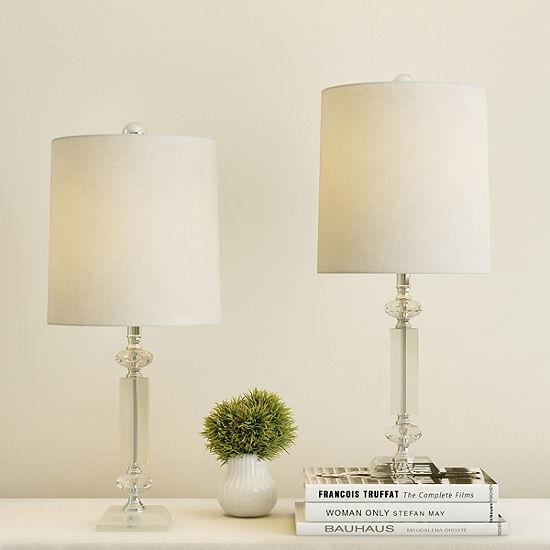 Lavish Home Lavish Home 5' Full Spectrum Sunlight Floor Lamp 2-pc. Lamp Set