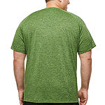 The Foundry Big & Tall Supply Co. Mens Crew Neck Short Sleeve Moisture Wicking T-Shirt-Big and Tall