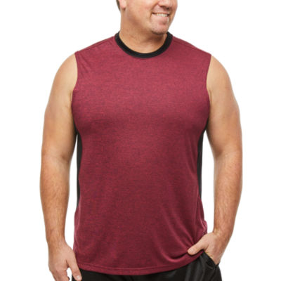The Foundry Big & Tall Supply Co. Mens Crew Neck Sleeveless Moisture Wicking Tank Top Big and Tall