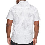 Zoo York Big and Tall Mens Short Sleeve Button-Down Shirt
