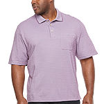 Van Heusen Mens Short Sleeve Polo Shirt Big and Tall
