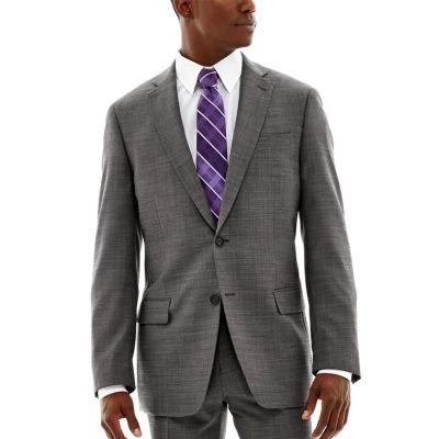 Claiborne® Black & White Nailhead Stretch Suit Jacket - Classic Fit