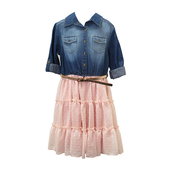 Arizona 3/4 Sleeve Tutu Dress - Bid Kid Girls