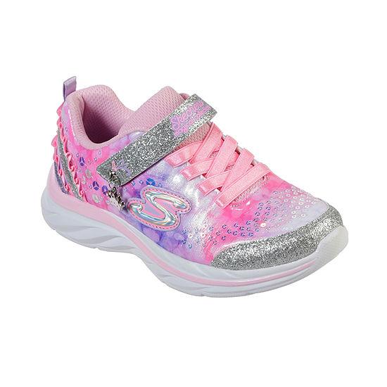 Skechers Quick Kicks-Lil Princess Little Kid/Big Kid Girls Sneakers