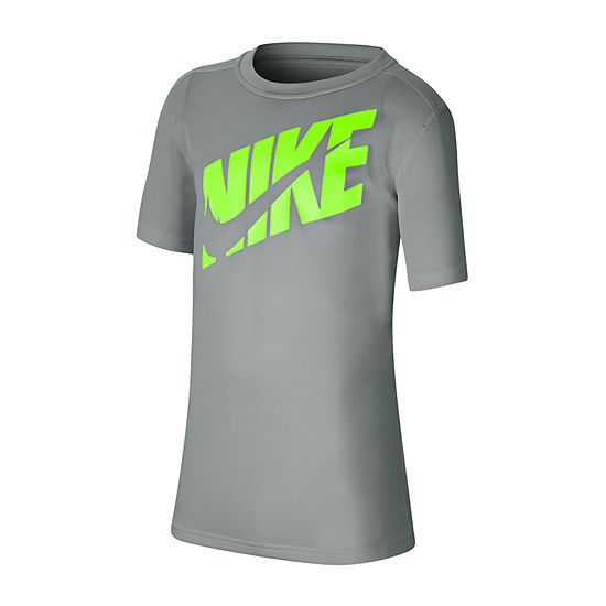Nike Big Boys Round Neck Sleeveless Graphic T-Shirt