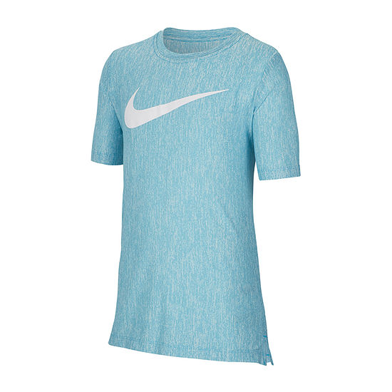 Nike Big Boys Crew Neck Short Sleeve T-Shirt