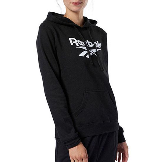 Reebok Womens Hooded Neck Long Sleeve Hoodie