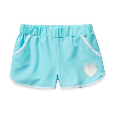 Okie Dokie Toddler Girls Mid Rise Pull-On Short