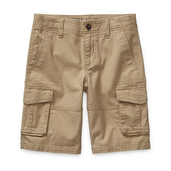 Arizona Little & Big Boys Adjustable Waist Cargo Short