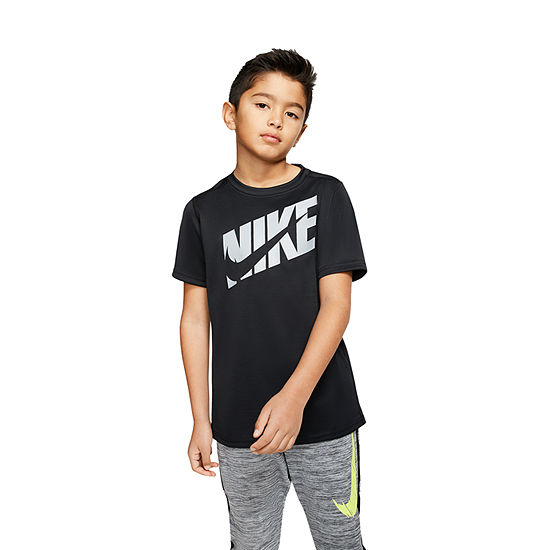 Nike Boys Round Neck Sleeveless Graphic T-Shirt - Big Kid