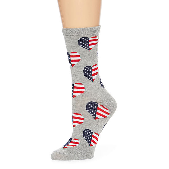 Mixit 1 Pair Crew Socks Womens