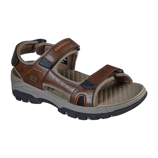 Skechers Tresmen-Hirano Relaxed Fit™ Mens Ankle Strap Footbed Sandals