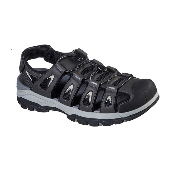 Skechers Tresmen-Outseen Relaxed Fit™ Mens Ankle Strap Footbed Sandals