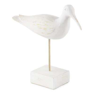 JCPenney Home Egret Looking Forward Tabletop Decor