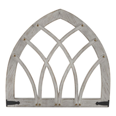 JCPenney Home Gray Arch Wall Sign