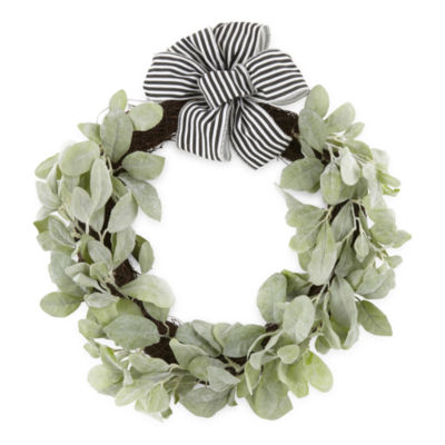 JCPenney Home Lamb's Ear Wreath