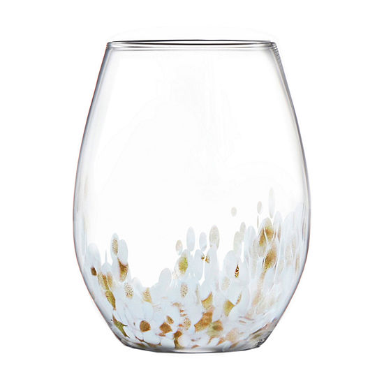 Fifth Avenue 4-pc. Stemless Wine Glass