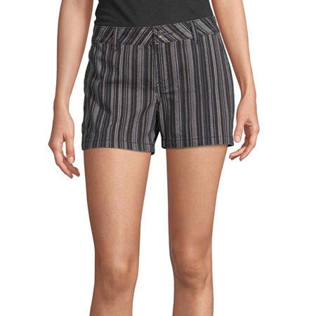 a.n.a Womens 3.5'' Chino Short, 12 , Black