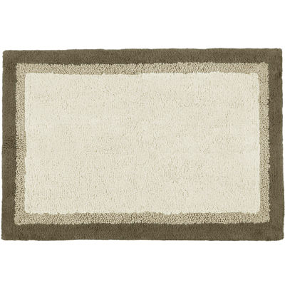 Madison Park Eastridge Bath Rug with Non-Skid Latex Backing