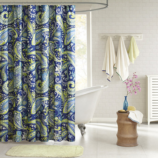 Intelligent Design Rachelle Printed Shower Curtain