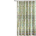 Intelligent Design Ellie Printed Shower Curtain